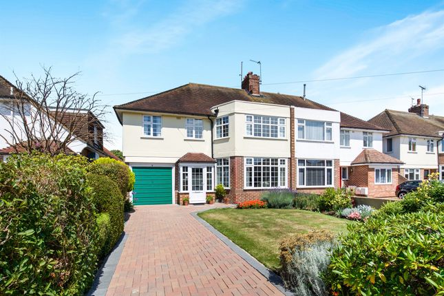 Thumbnail Semi-detached house for sale in Robson Road, Goring-By-Sea, Worthing