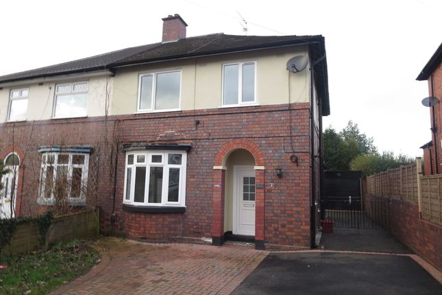 Thumbnail Semi-detached house for sale in The Avenue, Hartshill, Stoke On Trent