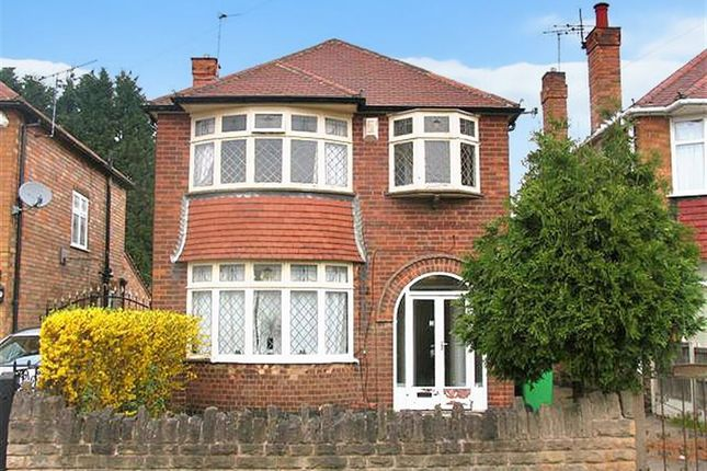Thumbnail Detached house to rent in Seaford Avenue, Wollaton, Nottingham