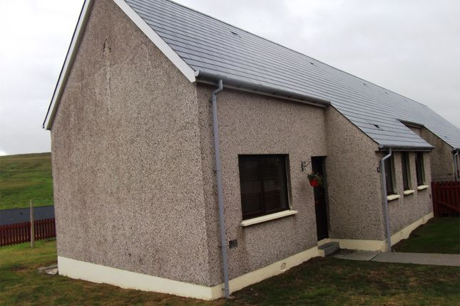 Thumbnail End terrace house for sale in 9 Sandside, Firth, Mossbank, Shetland