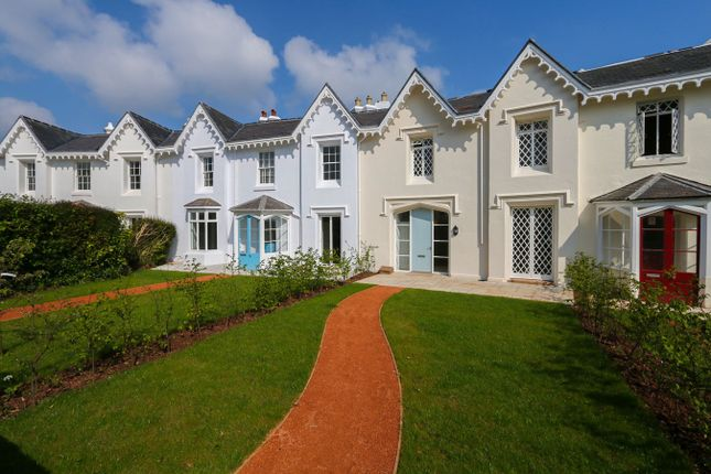 Thumbnail Town house for sale in Park Crescent, St Marychurch, Torquay
