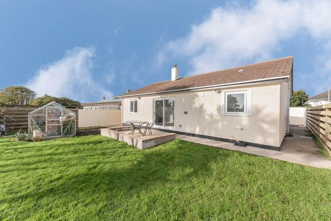 Thumbnail Detached bungalow for sale in Hendra Close, Ashton, Helston