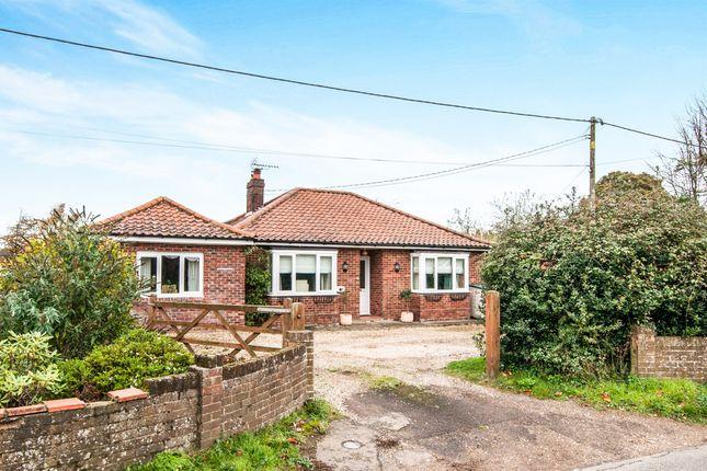 Thumbnail Detached bungalow for sale in Hale Road, Bradenham, Thetford