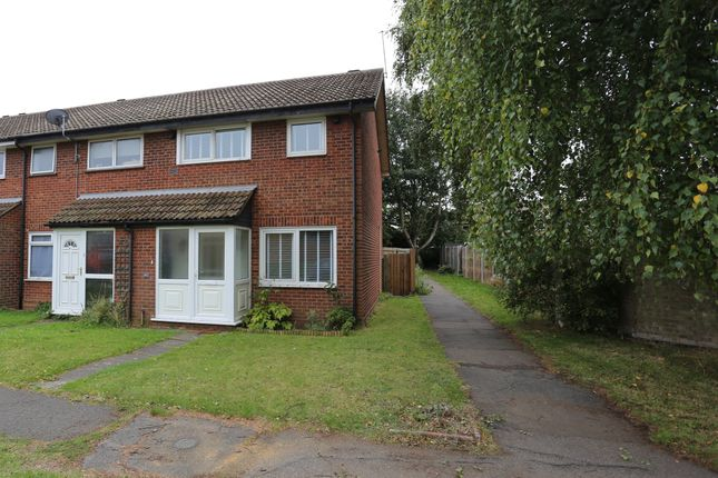 Thumbnail 3 bed end terrace house to rent in Chelsworth Road, Felixstowe