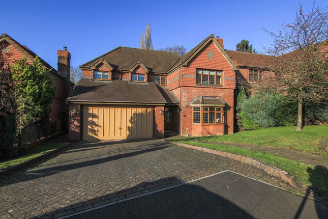 Thumbnail Detached house for sale in The Manor, Llantarnam, Cwmbran