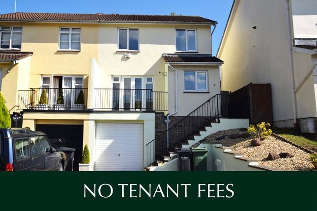 Thumbnail Semi-detached house to rent in Wrefords Link, Exeter