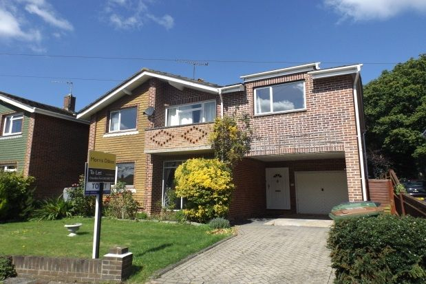 Thumbnail Detached House To Rent In Kingsway Gardens Chandlers Ford Eastleigh
