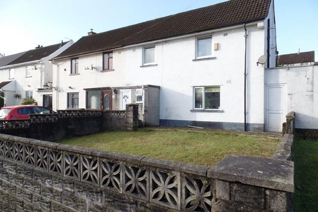 Thumbnail Semi-detached house for sale in Lansbury Road, Merthyr Tydfil