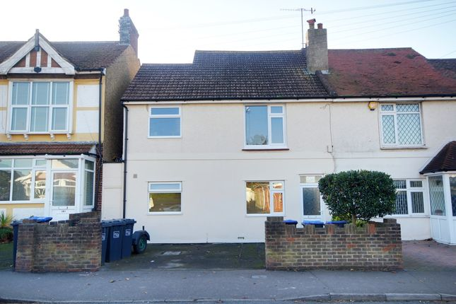 Thumbnail Flat to rent in Sompting Road, Lancing