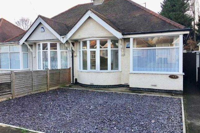 Thumbnail Semi-detached bungalow to rent in Malcolm Drive, Northampton