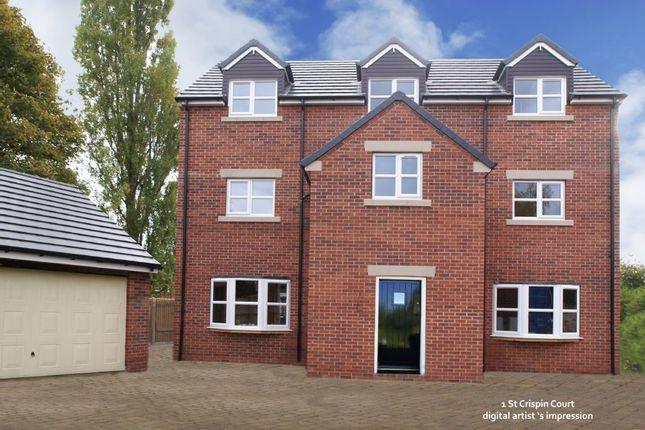 Thumbnail Property for sale in St Crispin Court, Plot 1, Ashgate Road, Ashgate, Chesterfield, Derbyshire