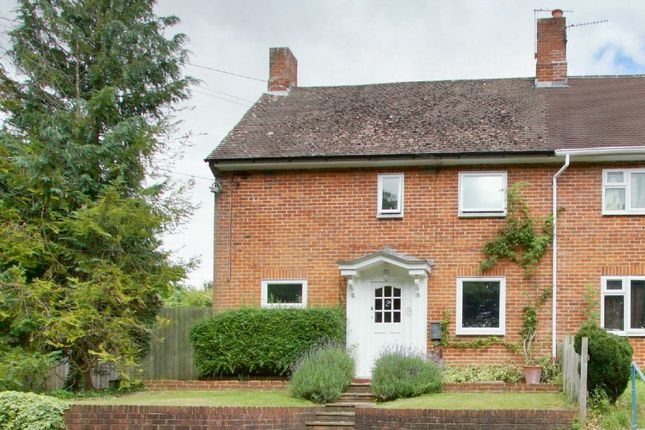 Thumbnail Semi-detached house for sale in Beech Grove, Wherwell