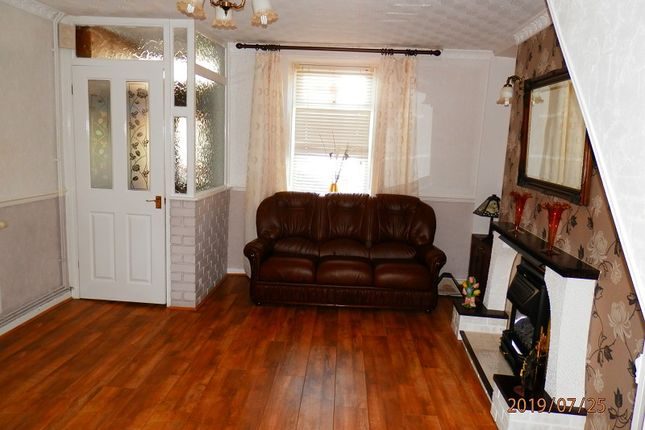 Lounge of Victoria Street, Treherbert, Rhondda Cynon Taff. CF42