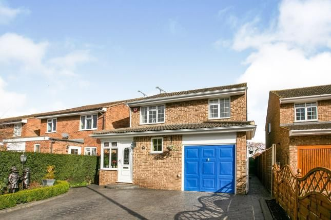 Thumbnail Detached house for sale in Hudson Close, Lidlington, Bedford, Bedfordshire