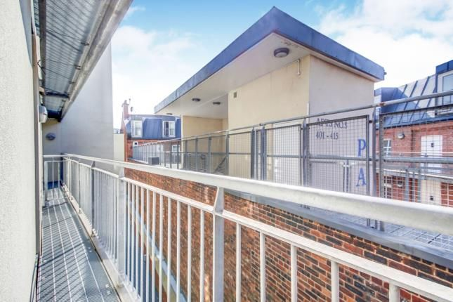 Balcony of Marconi House, Melbourne Street, Newcastle Upon Tyne, Tyne And Wear NE1