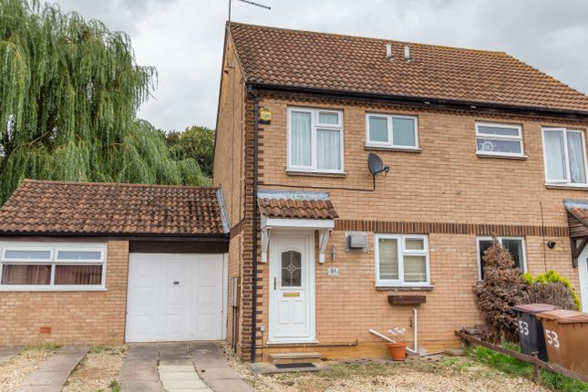 2 bed semi-detached house to rent in Ecton Park Road, Northampton NN3