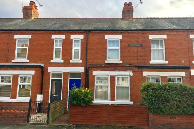 Thumbnail Terraced house for sale in Clare Avenue, Hoole, Chester