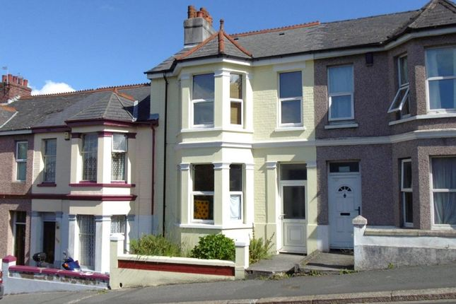 Thumbnail Terraced house for sale in Lipson Road, Plymouth, Devon