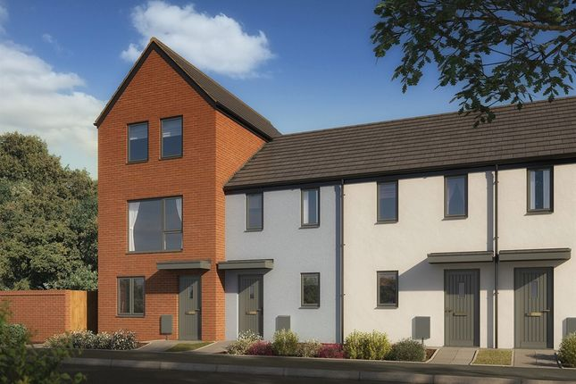 "2 bedroom terraced house for sale in ""The Morden"" at Powell Duffryn Way, Barry"