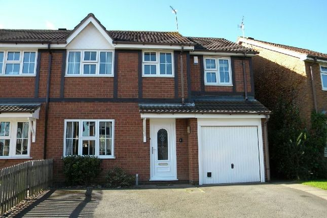 Thumbnail Semi-detached house for sale in Browns Way, Whetstone, Leicester