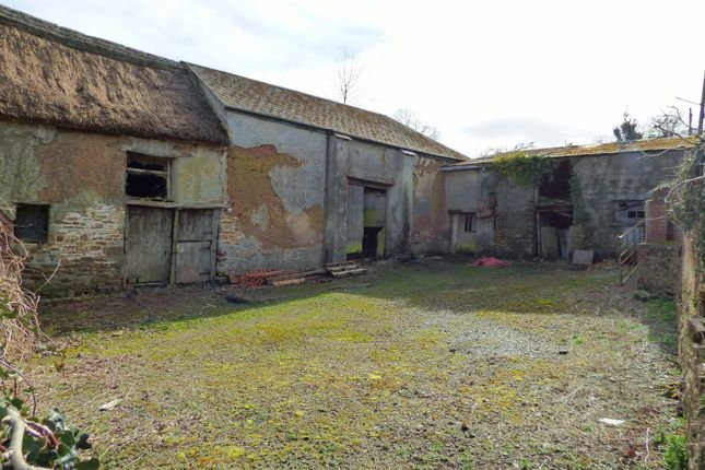 Front Courtyard of Barns For Conversion With Planning Permission, Blenheim Lane, Exbourne EX20