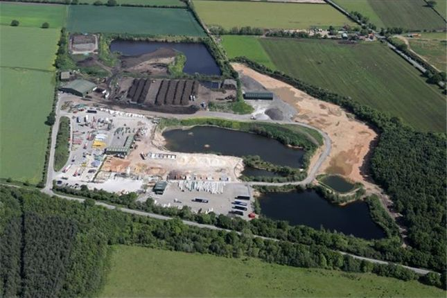Thumbnail Land for sale in Wroot Road Quarry, Wroot Road, Finningley, Doncaster, Yorkshire, England