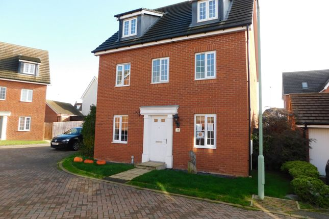 Detached house for sale in Peregrine Drive, Stowmarket, Suffolk