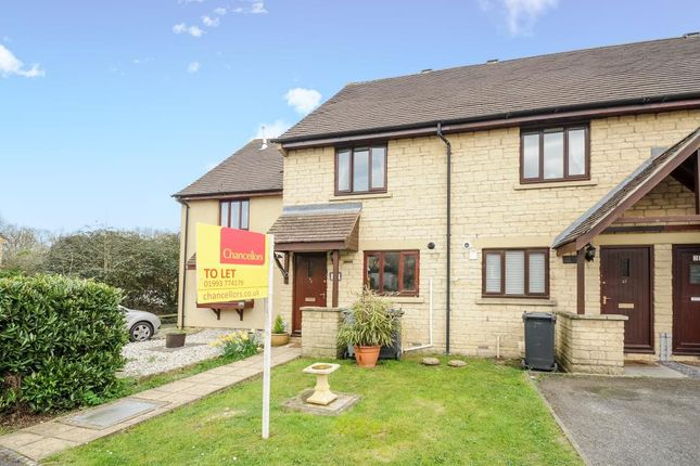 Thumbnail End terrace house to rent in Deer Park, Witney