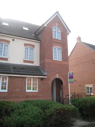 Thumbnail Town house to rent in Maytree Court, Adlington, Chorley
