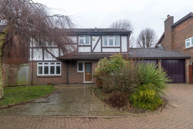 Thumbnail Detached house to rent in Glenwood, Broxbourne