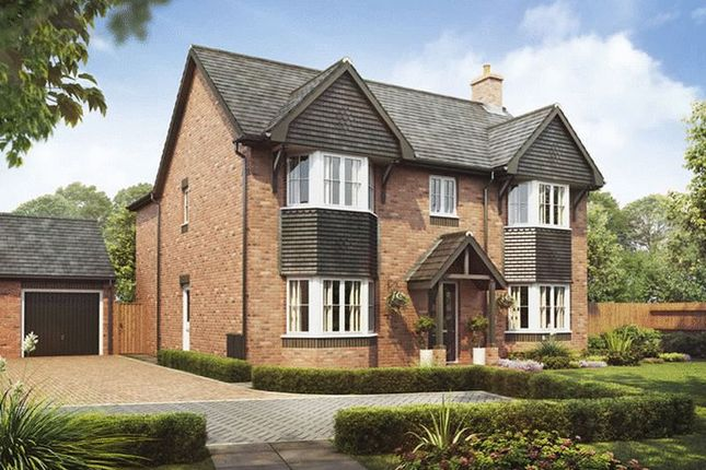 Thumbnail Detached house for sale in Plot 13, The Oak, Barley Fields, Uttoxeter