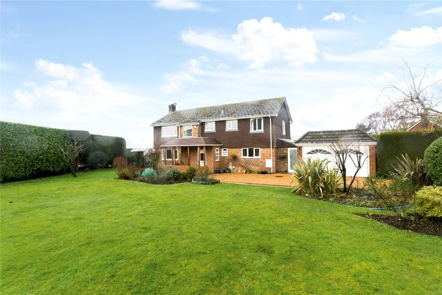 Thumbnail Detached house for sale in Queensfield, Dummer, Basingstoke, Hampshire