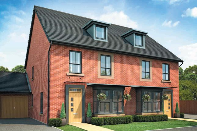 "Thumbnail Semi-detached house for sale in ""Reigate 2"" at Nottingham Business Park, Nottingham"
