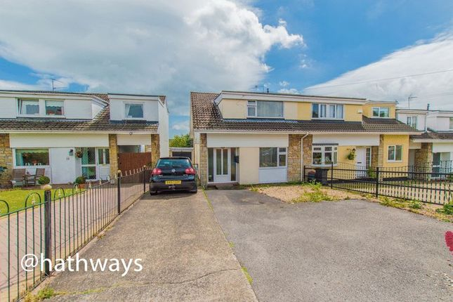 Semi-detached house for sale in Eastfield Way, Caerleon, Newport