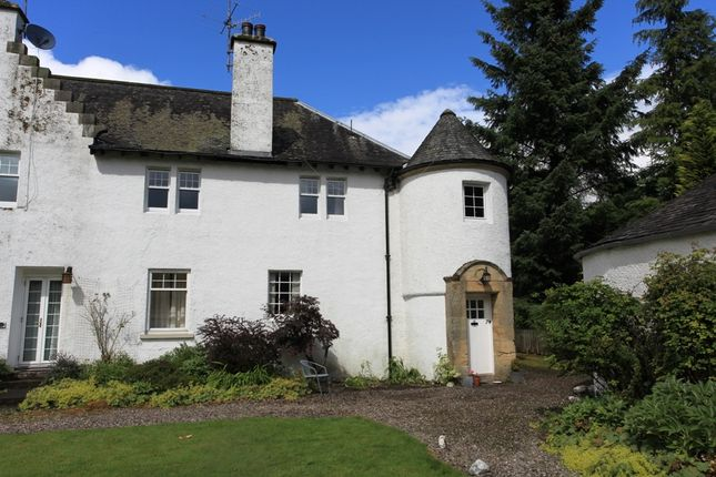Thumbnail Flat for sale in Dunira, Comrie