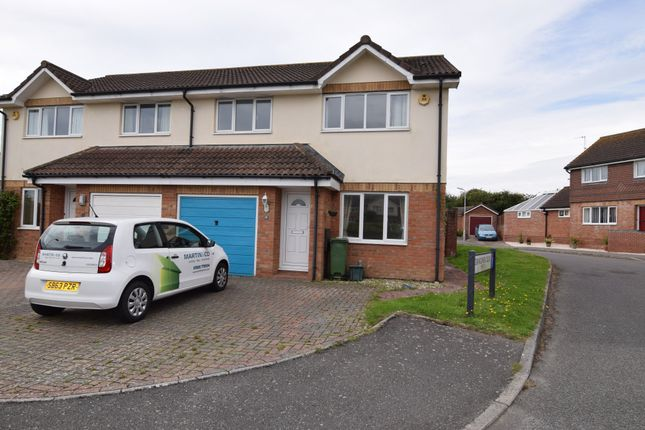 Thumbnail Semi-detached house to rent in Cornflower Close, Weymouth, Dorset