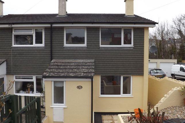 Thumbnail Property to rent in Bere Alston, Yelverton, Devon