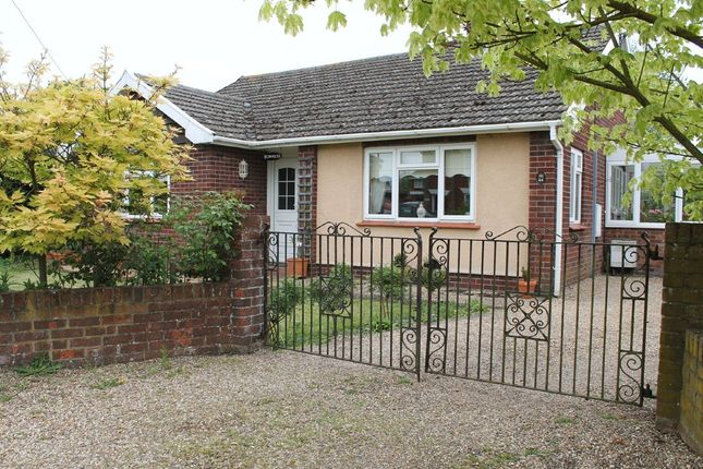 Thumbnail Detached bungalow for sale in Shelfanger Road, Diss, Norfolk