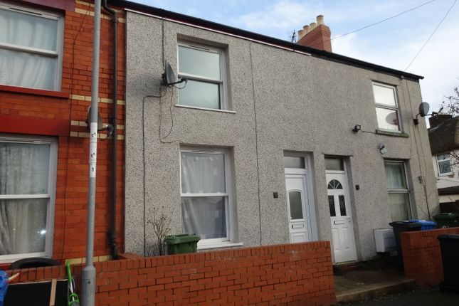 Thumbnail End terrace house to rent in Vale View Terrace, Rhyl