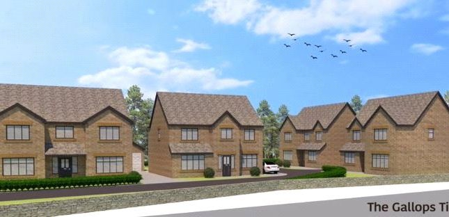 Thumbnail Detached house for sale in Plot 4, The Gallops, Morley, Leeds, West Yorkshire