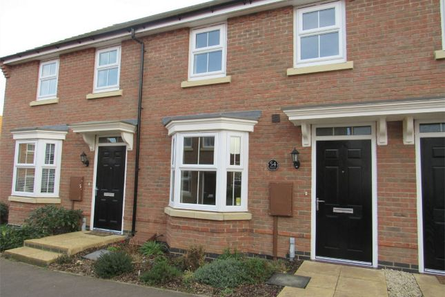 Thumbnail Terraced house to rent in Warwick Close, Bourne, Lincolnshire