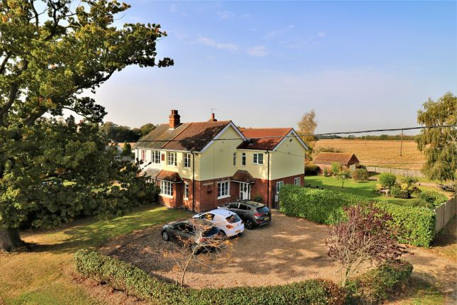 Thumbnail Semi-detached house for sale in Badley Hall Road, Great Bromley, Colchester, Essex