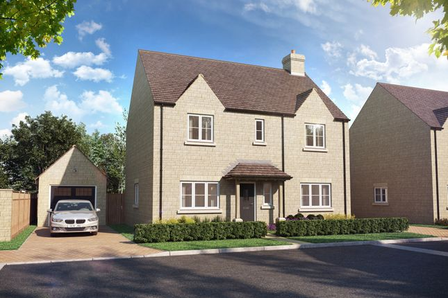 Detached house for sale in Deanfield Grove, St Johns Road, Tackley Oxfordshire