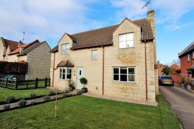 Detached house for sale in Counthorpe Lane, Castle Bytham, Grantham