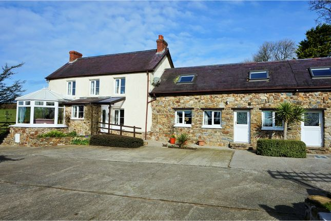 Thumbnail Farmhouse for sale in Stepaside, Narberth