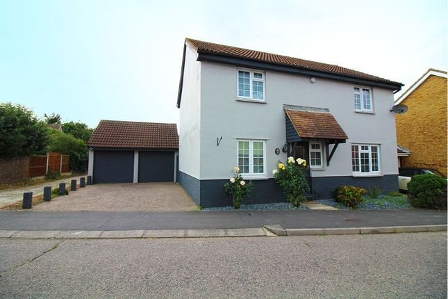 Thumbnail Detached house for sale in Barlows Reach, Springfield, Chelmsford