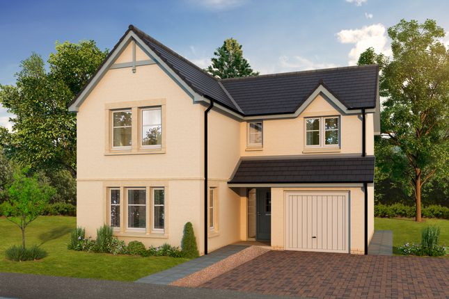 Thumbnail Detached house for sale in The Lewis, Calder Street, Coatbridge, North Lanarkshire