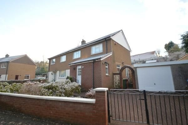 Thumbnail Semi-detached house to rent in Woodside Avenue, Lenzie, Kirkintilloch, Glasgow