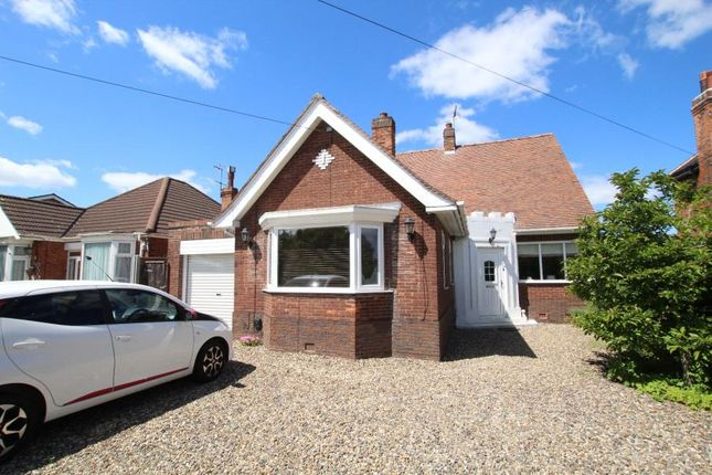 Thumbnail Bungalow to rent in Castle Road, Cottingham