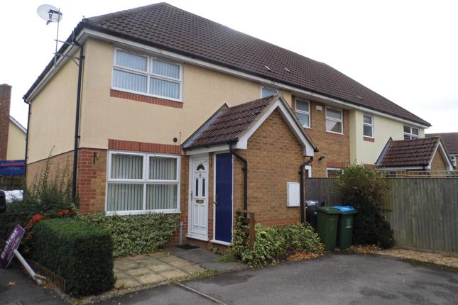 Thumbnail End terrace house to rent in Rye Close, Aylesbury